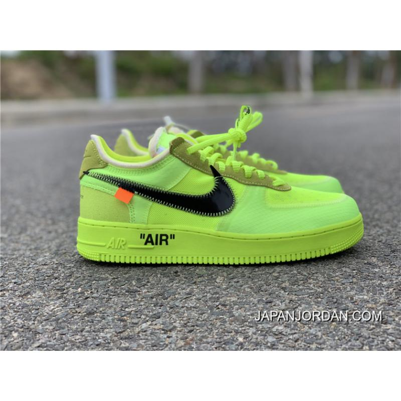 buy online 05951 c70e3 For Sale Off-White X Nike Air Force 1 Low Volt/Cone-Black ...