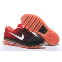 Nike Air Max2017 Flyknit Men Women Red Orange Best