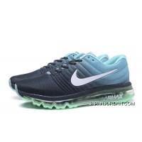 NIKE Air Max2017 Flyknit Men Green Blue Black Authentic