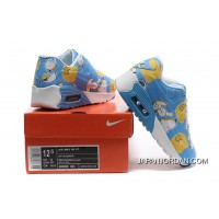 Nike AIR MAX 90 KID Hyperfuse White Blue Best