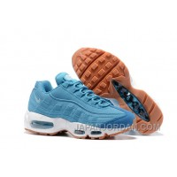 Nike Air Max 95 2017 Spring New Blue Women Authentic