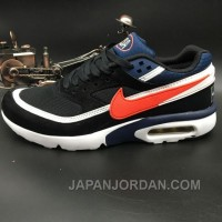 Nike Air Max Premium BW 819523-064 Black Navy Blue Red Top Deals