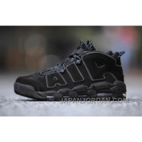 Nike Air More Uptempo AIR Triple Black 3M 414962-004 Women/men Authentic