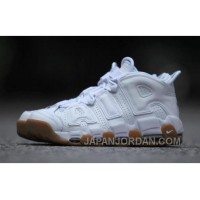 Nike Air More Uptempo AIR 414962-100-103 White Gum Women/men Lastest