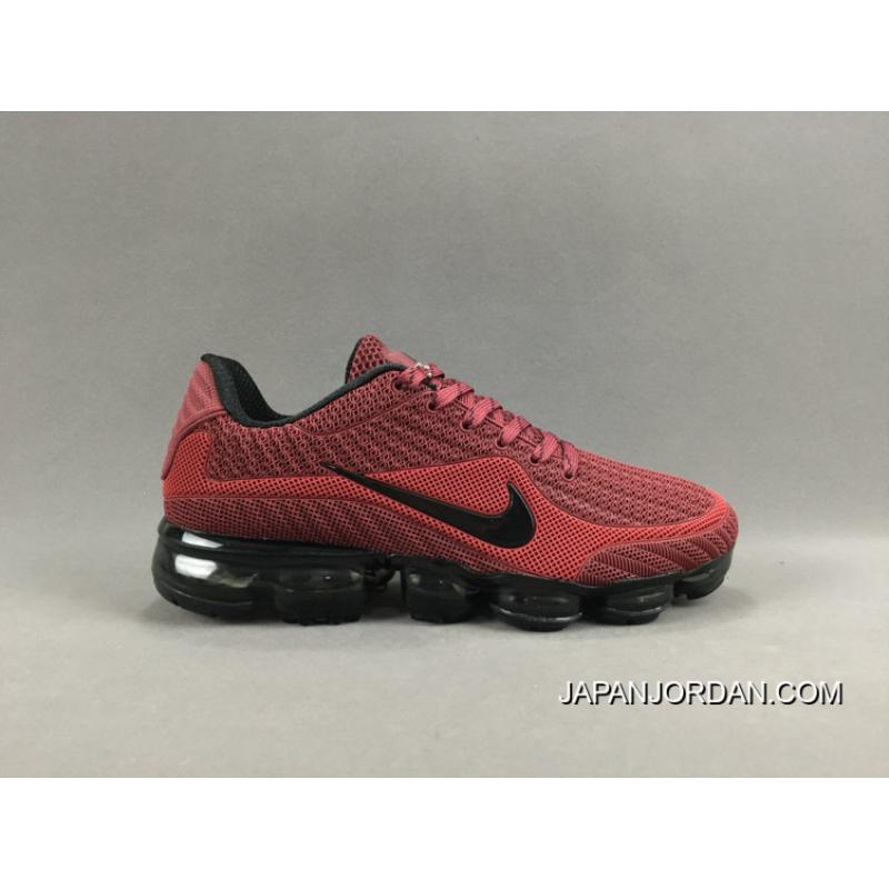 NIKE AIR VAPORMAX FLYKNIT 2018 Red Black Best, Price