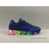 NIKE AIR VAPORMAX FLYKNIT 2018 Blue Colorful Cheap To Buy