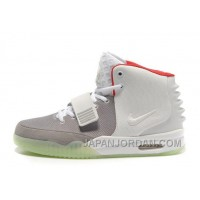 Nike Air Yeezy 2 Wolf Grey/Pure Platinum Glow In The Dark Authentic