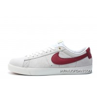 Nike SB Blazer Low GT Women Men White Red 704939 Copuon Code