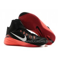 Nike Hyperdunk 2014 Black/Metallic Silver/Hyper Punch For Sale Free Shipping