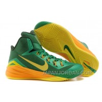 "Nike Hyperdunk 2014 ""Brazil"" Lucky Green/Sonic Yellow-Gorge Green For Sale Cheap To Buy"