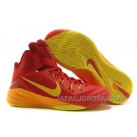 "Nike Hyperdunk 2014 ""Spain"" University Red/University Gold-Team Red Cheap To Buy"