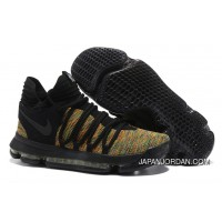 Nike KD 10 Black Gold Men Shoes Kevin Durant Top Deals