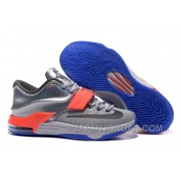 "Nike KD 7 ""All-Star"" Pure Platinum/ Multi-Color-Black Authentic"