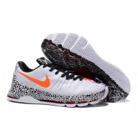 "KD 8 ""Christmas"" White/Black-Bright Crimson Lastest"