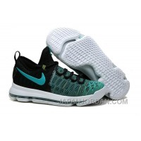 "Nike KD 9 ""Birds Of Paradise"" Black/Clear Jade Top Deals"
