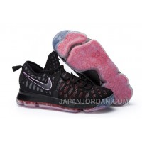 Nike KD 9 Black Red Shoes Discount