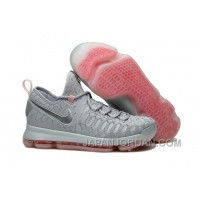 "Nike KD 9 LMTD ""Pre-Heat"" Wolf Grey/Multi-Color Authentic"