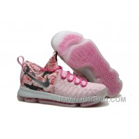 Nike KD 9 Pink Black Aunt Pearl Flora New Release