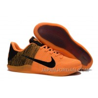 Nike Kobe 11 Elite Orange/Black Basketball Shoes Top Deals