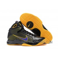 Nike Zoom Kobe 4 (IV) Black Yellow Purple Authentic