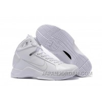 Nike Zoom Kobe 4 (IV) Olympic All White Authentic