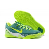 Nike Kobe 9 Low EM Green/Neon Green For Sale Lastest