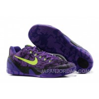 Nike Kobe 9 Low EM XDR Purple Volt For Sale New Release