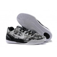 Nike Kobe 9 Low EM XDR White Black For Sale Online