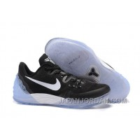 NIKE KOBE VENOMENON 5 Black White Men New Release