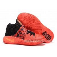 "Nike Kyrie 2 ""Bright Crimson"" Bright Crimson/Black/Atomic Orange Super Deals"