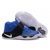 "Nike Kyrie 2 ""Brotherhood"" Hyper Cobalt/Metallic Silver-Black Free Shipping"