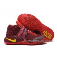 "Nike Kyrie 2 ""Cavs"" PE Wine Red Yellow New Release"