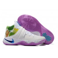 "Nike Kyrie 2 ""Easter"" White/Hyper Jade-Urban Lilac-Bright Mango New Release"