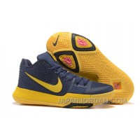 Nike Kyrie 3 Mens BasketBall Shoes Cavs Yellow Authentic 5ZWyYzK