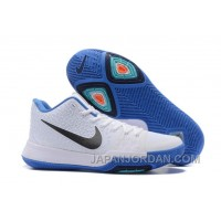 Nike Kyrie 3 Mens BasketBall Shoes White Blue Free Shipping YyPCC