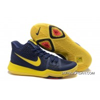"Nike Kyrie 3 ""Cavs"" Blue Yellow On Sale Copuon Code"