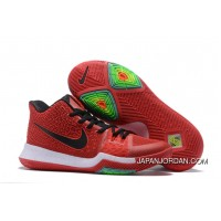 Nike Kyrie 3 University Red/Black-White On Sale Top Deals