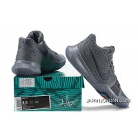 2017 New Nike Kyrie 3 Cool Grey-Anthracite-Polarized Blue Released Cheap To Buy