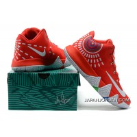 Nike Kyrie 4 Mens Basketball Shoes Red Authentic