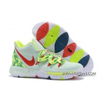 c6467eff156 Outlet Nike Kyrie 5 'EYBL' Mint Green/Red-Neon Green