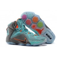 "Nike LeBron 12 ""Miami Dolphins"" Turquoise/Grey-Crimson-Black For Sale Top Deals"