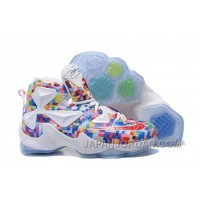 """Nike LeBron 13 """"Prism"""" Multi-Color/University Red-White Basketball Shoes Discount"""