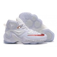 Nike LeBron 13 White/Wine PE Shoes Top Deals