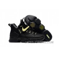 Nike LeBron 14 SBR Black Neon Green Light In The Dark Super Deals