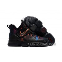 Nike LeBron 14 SBR Black Orange Red Super Deals