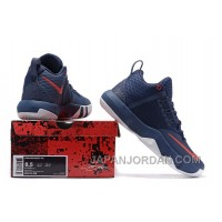 Nike Lebron Ambassador 9 Navy Blue Red Top Deals