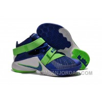 "Nike LeBron Soldier 9 ""Sprite"" Basketball Shoe Free Shipping"