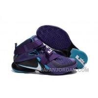 "Nike LeBron Soldier 9 ""Summit Lake Hornets"" Basketball Shoe Discount"