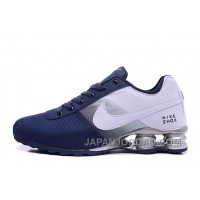 NIKE SHOX DELIVER 809 NAVY BLUE WHITE Copuon Code
