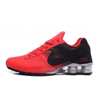 NIKE SHOX DELIVER 809 RED WOMEN BIGGER SIZE Lastest